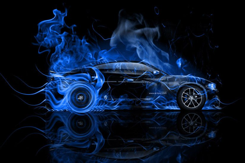 Dodge-Charger-RT-Muscle-Side-Blue-Fire-Abstract-Car-2014-Art-HD-Wallpapers-design-by-Tony-Kokhan-www.el-tony.com_.jpg  (1920×1080) | Dodge Chargers ...