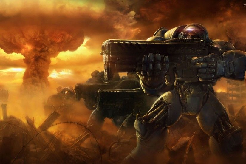 StarCraft II - Wings of Liberty wallpaper - Game .