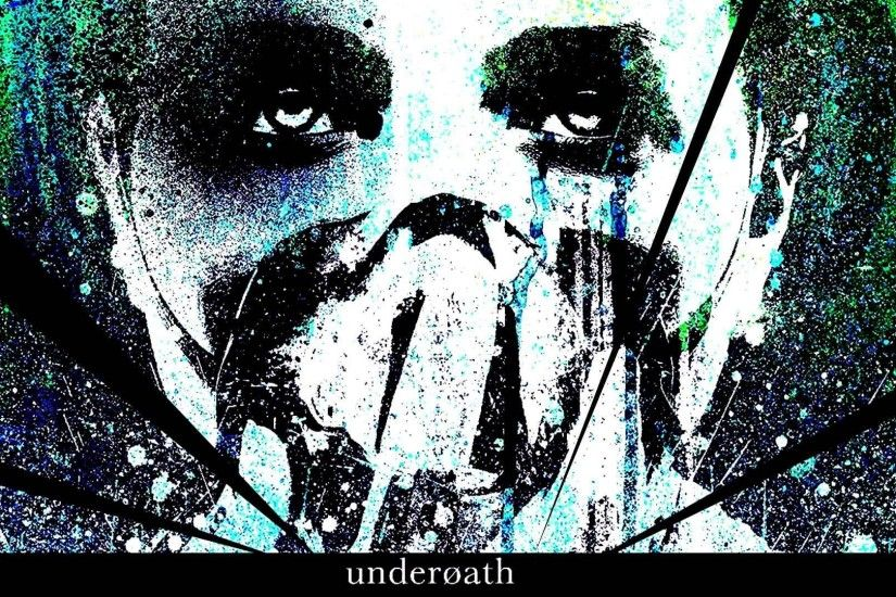 Underoath Christian Metalcore Hardcore Religion 1undero Emo Screamo Poster  Dark Mask Horror Wallpaper At Dark Wallpapers
