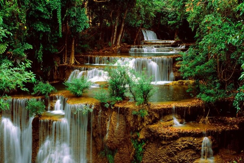 ... Beautiful Nature Wallpaper For Desktop 3d Waterfalls 17 Beautiful  Waterfall Computer Wallpapers HD Inn ...