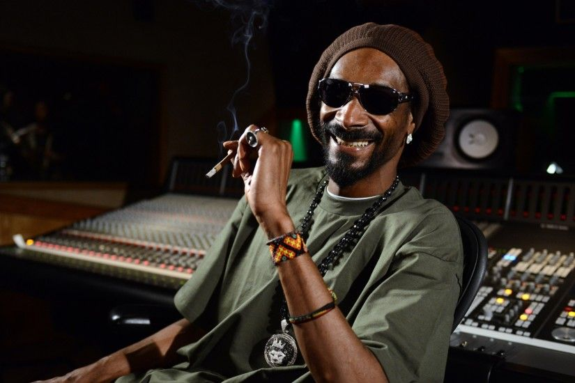 Preview wallpaper snoop dogg, singer, rapper, studio 3840x2160