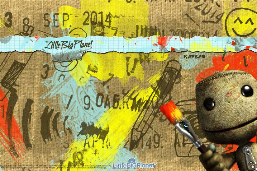 Littlebigplanet PS3 Wallpaper HD