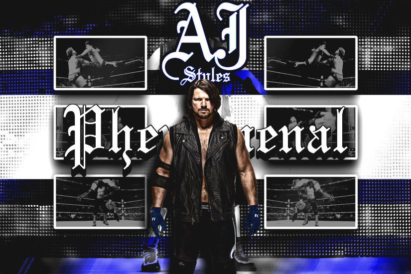 ... DarkVoidPictures AJ Styles Wallpaper (1080p) by DarkVoidPictures