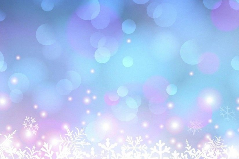 Pretty Light Circle Snowflakes HD Backgrounds Desktop 1920x1080