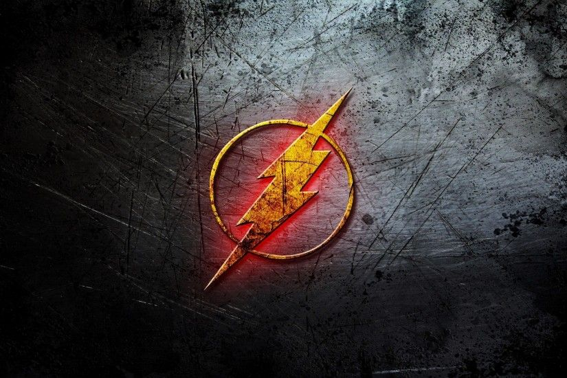 2560x1440 Wallpaper flash, logo, dc comic