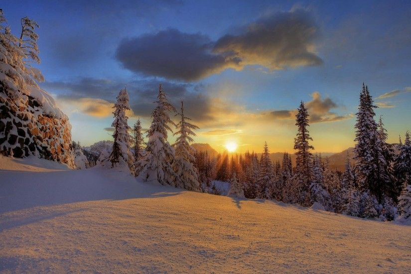 1920x1200 Winter Sunset Desktop Backgrounds 124 winter sunset; desktop