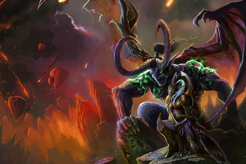 illidan stormrage wallpaper 1920x1080