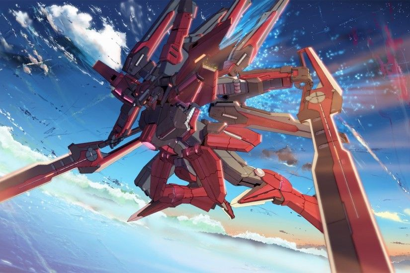 Gundam 00 Anime Mecha Sky a917 HD Wallpaper