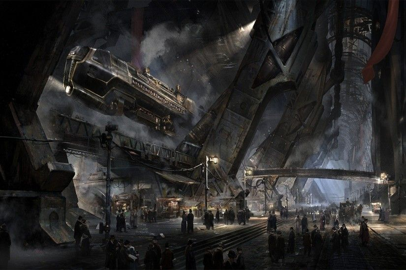 Victorian, Fantasy Art, Airships, DeviantArt, Steampunk Wallpapers HD /  Desktop and Mobile Backgrounds