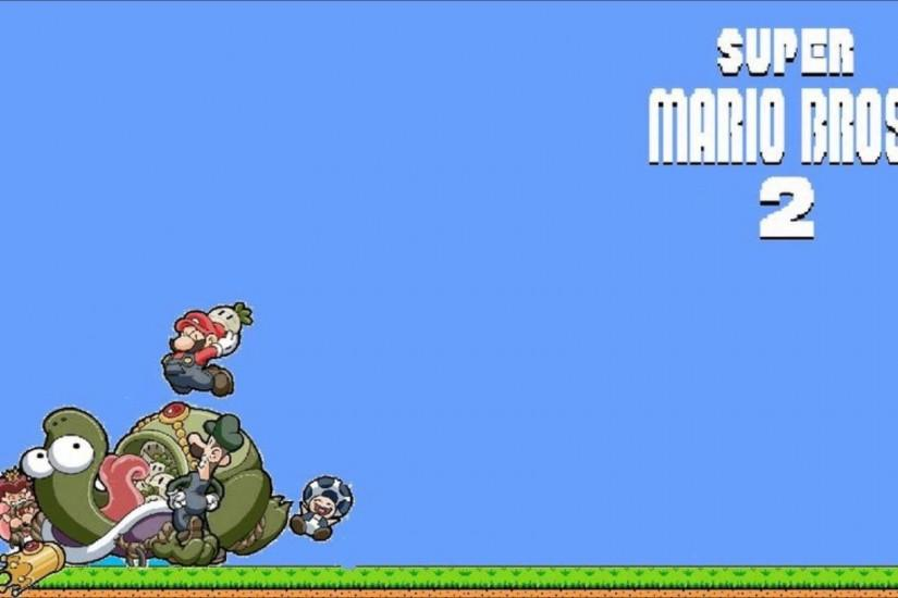 Super Mario World Background 320x240