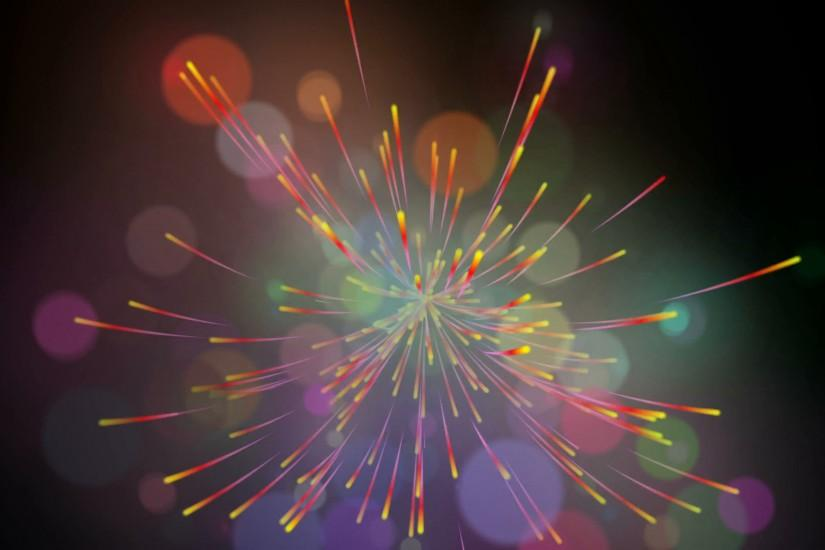 widescreen fireworks background 3840x2160