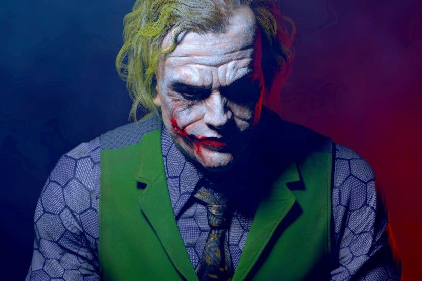 Joker, Batman, Heath Ledger