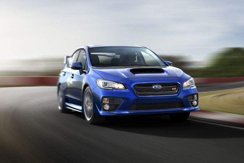 2015 Subaru WRX STI Wallpaper - 1920 x 1080