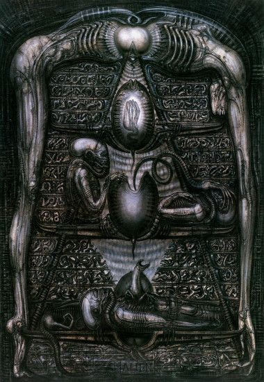 Alien by H. R. Giger