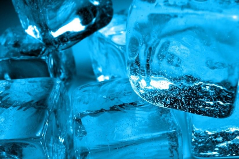 3840x2160 Wallpaper ice, cube, water, cold
