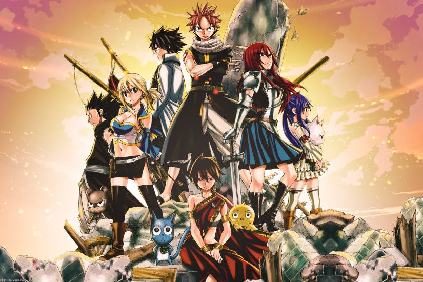 Fairy Tail - One of my first long-running anime series. The characters were  pretty diverse and the magic was just too awesome to ignore.