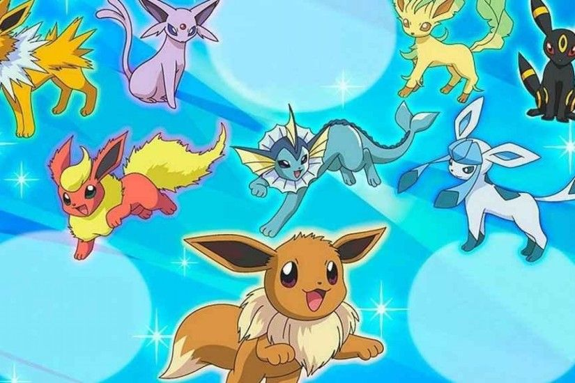 EEVEE EVOLUTIONS WALLPAPER - (#77459) - HD Wallpapers .