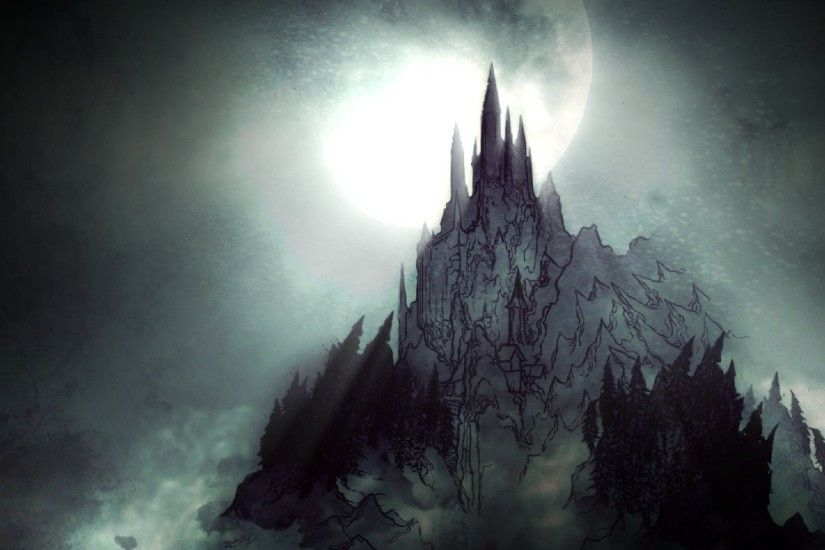 1920x1080 Dark Castle Computer Wallpapers Desktop Backgrounds x
