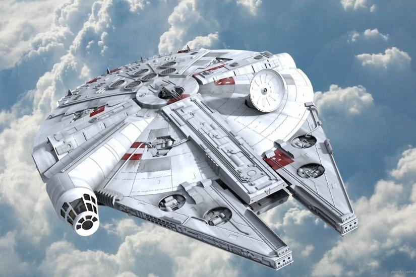 HD The Millennium Falcon Wallpaper
