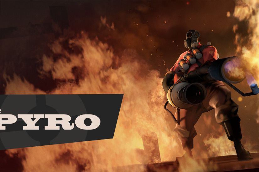 <b>Team Fortress 2</b> - <b>Pyro Wallpaper