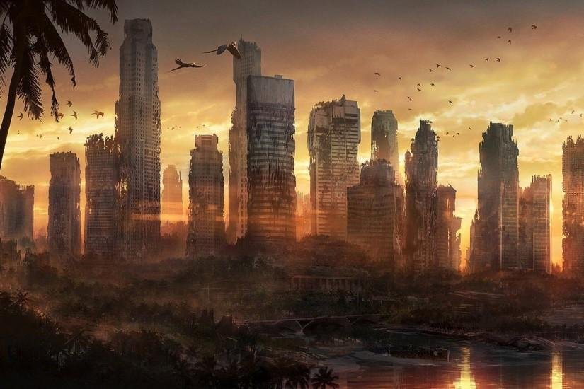 Post Apocalyptic Wallpaper | Photo Wallpapers - Wallpaper Zone