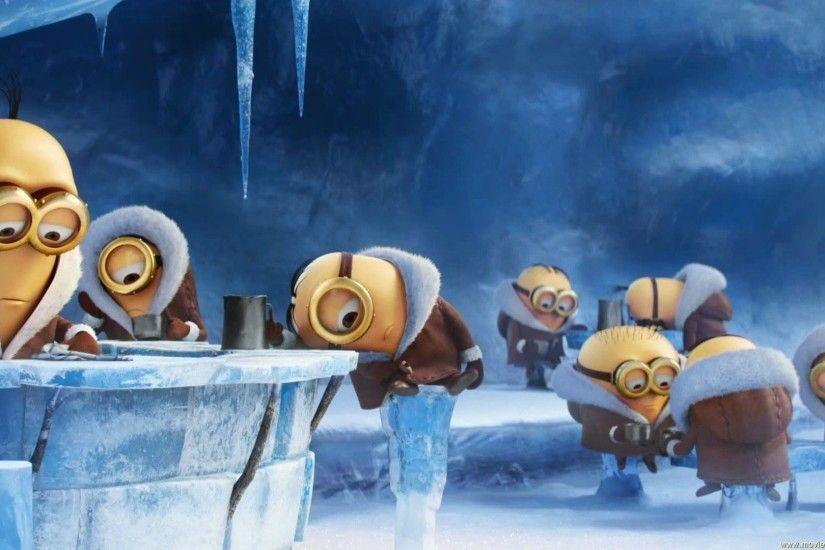 Minions, In, Ice, Cold, Winter, HD, Wallpaper, Movie For Kids, Hd, Free,  1920×1080 Wallpaper HD