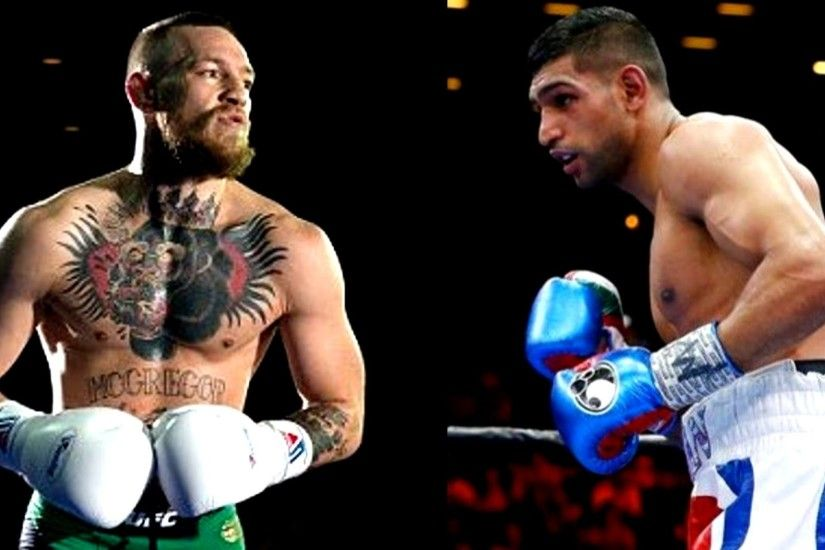 Conor Mcgregor vs Boxer Amir Khan in UFC?,Eddie Alvarez on why he turned  down Khabib fight - YouTube