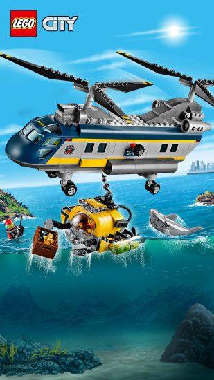 60093 Deep Sea Helicopter. Landscape · Portrait