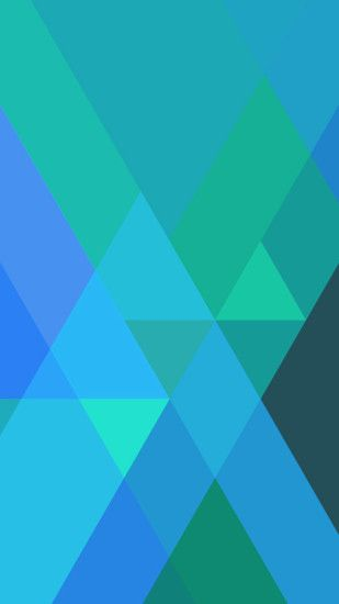 Blue Triangles Nexus 6 Wallpapers, Nexus 6 wallpapers and Backgrounds