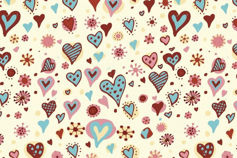 gorgerous hearts background 3840x2160 smartphone