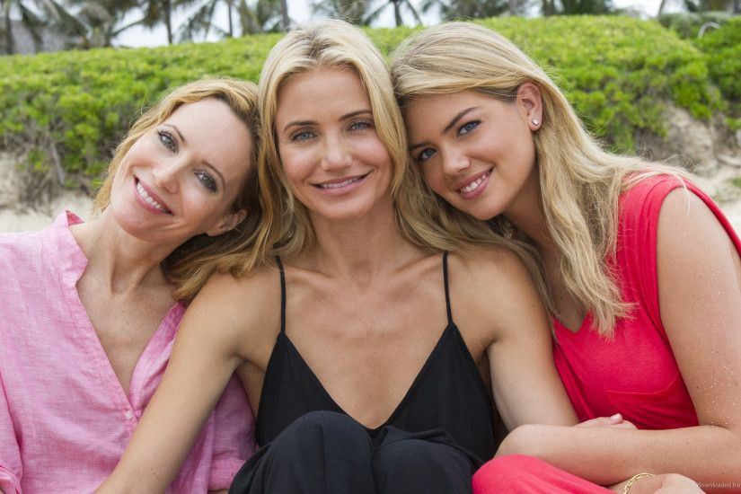 Cameron Diaz, Leslie Mann, Kate Upton On The Beach picture