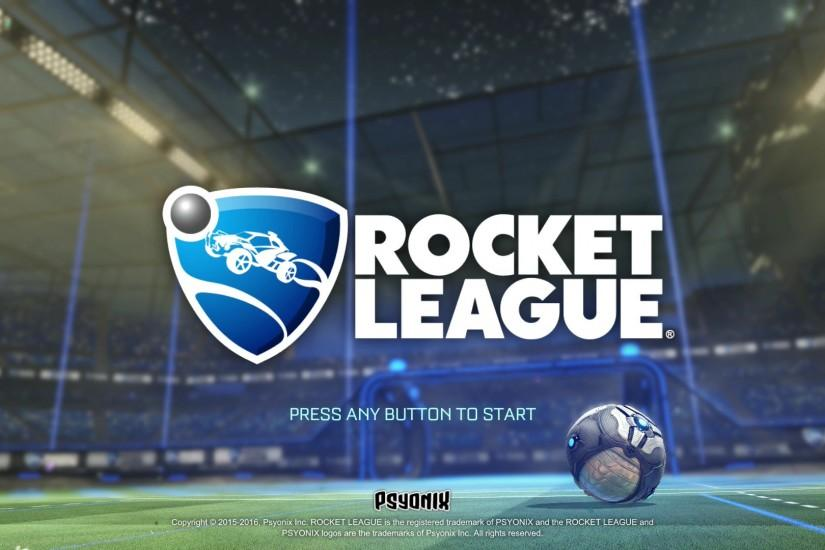 Rocket League start screen. Posted on Full size 1920 × 1080