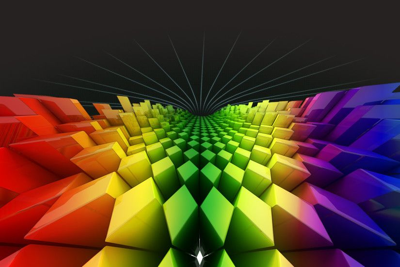 Cool Colorful 3D Wallpapers - wallpaper.