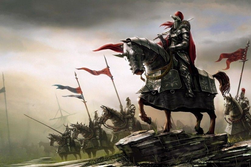 fantasy Art, Knight, Knights, Medieval Wallpapers HD / Desktop and Mobile  Backgrounds