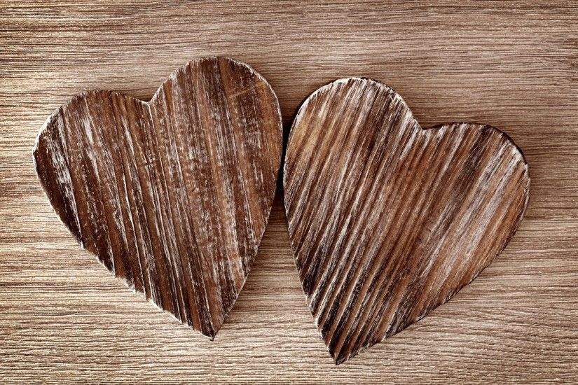 Rustic Hearts Wallpaper Background 52998