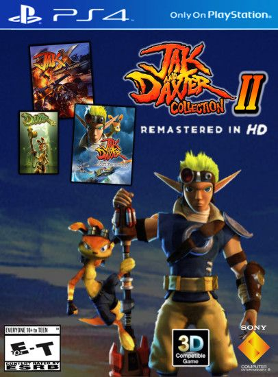 ... Jak and Daxter Collection II PS4 Remastered HD by 9029561