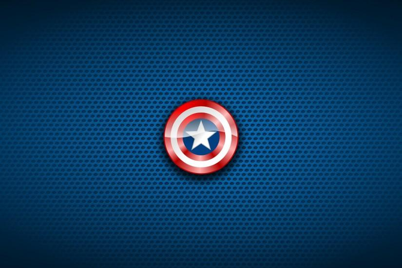 Captain America Shield Wallpaper HD Free Download.