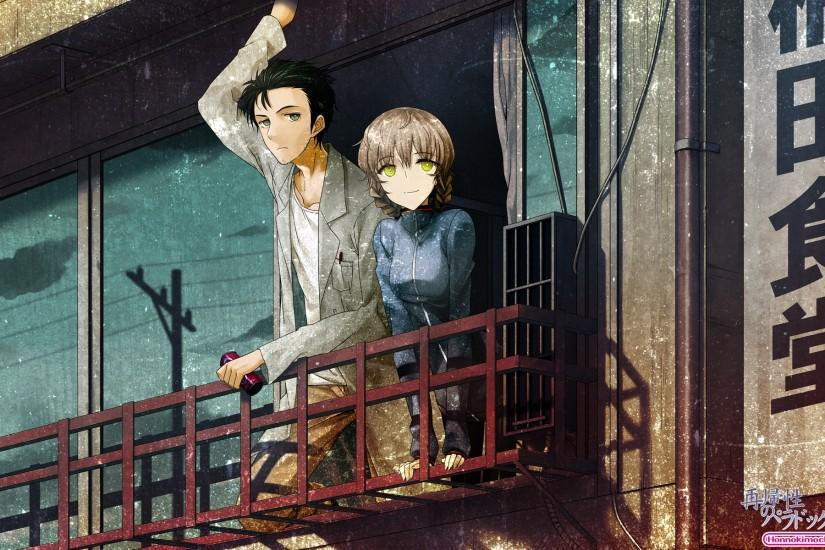 large steins gate wallpaper 1920x1200
