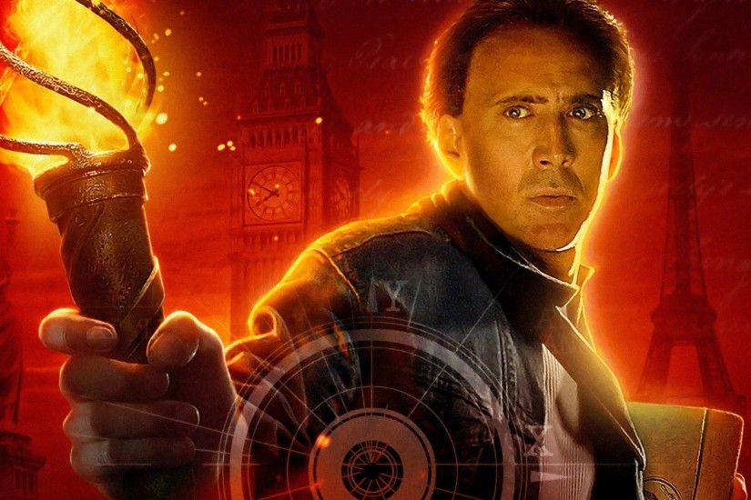 Movie - National Treasure: Book Of Secrets Nicolas Cage Wallpaper