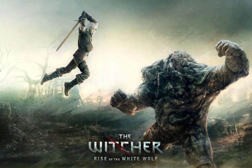 download free witcher wallpaper 1920x1200 for full hd