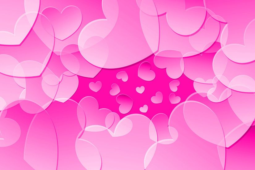 Pink hearts HD Wallpaper 1920x1080 Pink hearts HD Wallpaper 1920x1200 Pink  ...