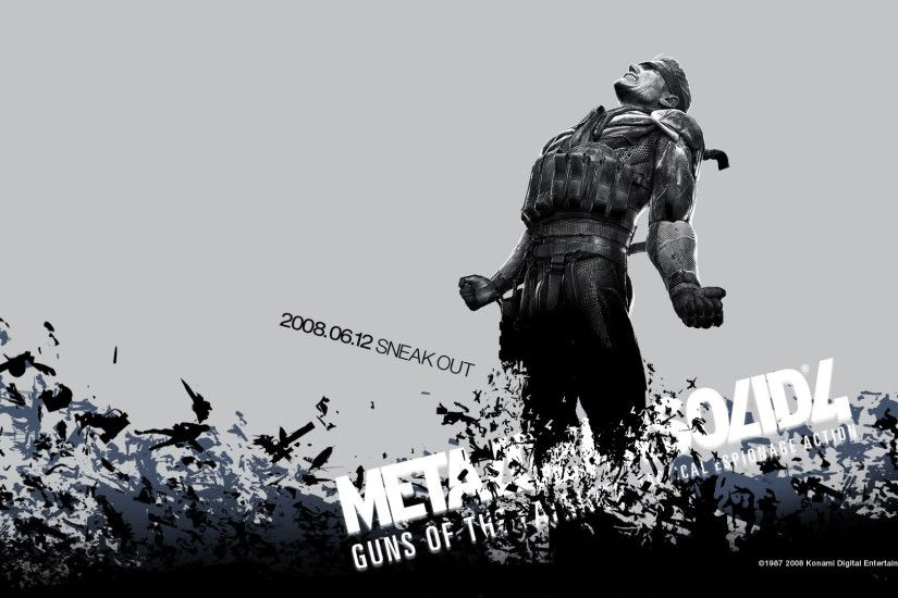 Video Game - Metal Gear Solid Guns Of The Patriots Metal Gear 3 Wallpaper