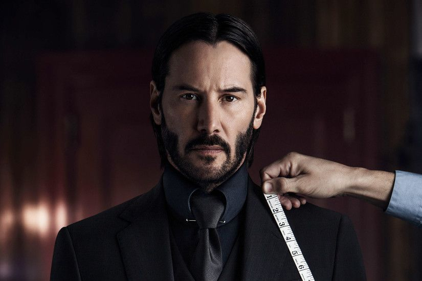 Keanu Reeves John Wick Chapter Two 2017 4K