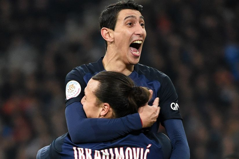 Marseille 1 Paris Saint-Germain 2: Di Maria settles Le Classique for  unconvincing leaders |