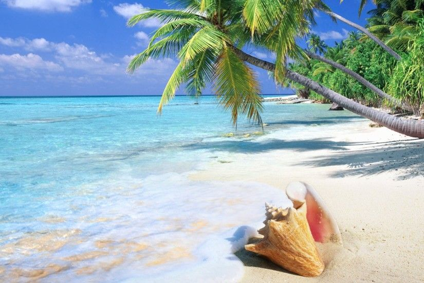 Tropical Beach Wallpapers Desktop with High Definition Wallpaper