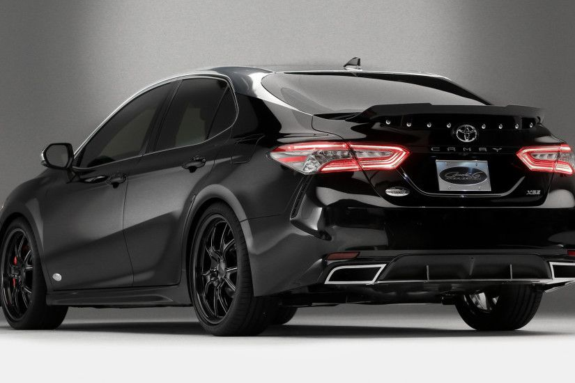 Vehicles - Toyota Camry Black Car Car Wallpaper
