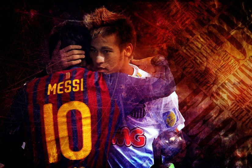 Neymar Messi HD wallpaper