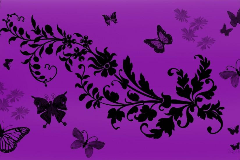 Purple Butterfly Wallpapers for PC 6996 - HD Wallpapers Site