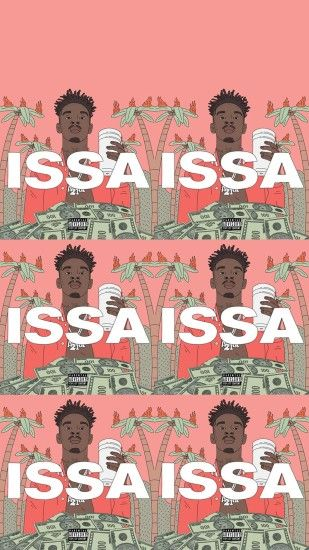 21 Savage ISSA album Phone wallpapers (different variations)