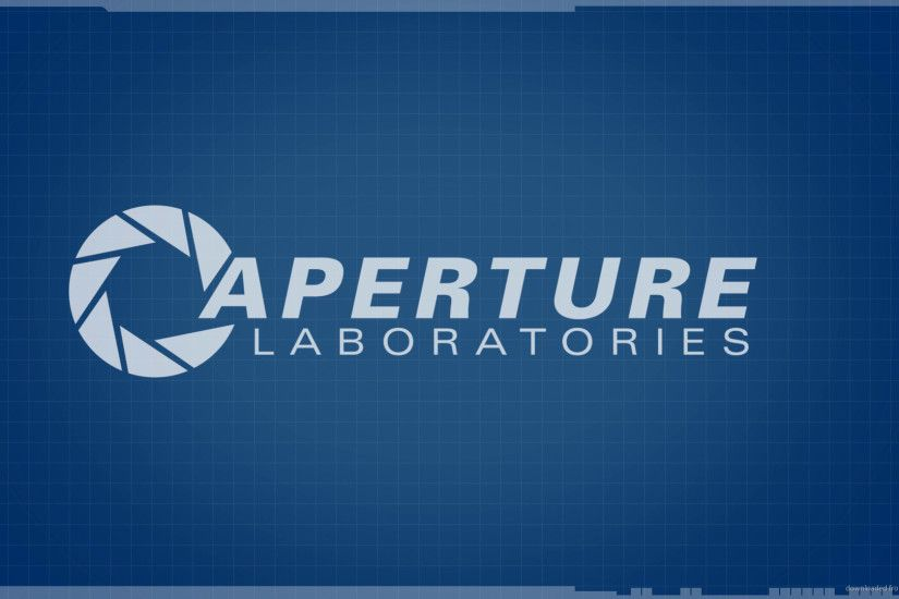 1680x1050 Aperture Labs wallpaper